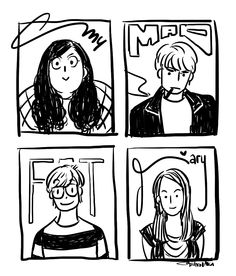 My Mad Fat Diary by stupit-apit.deviantart.com on @DeviantArt