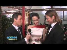 Angelina Jolie and Brad Pitt cute couple interview - YouTube