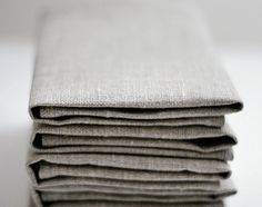 Linen napkin set of 12