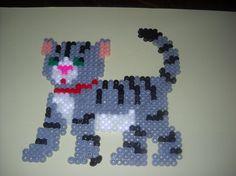 Cat hama beads by soleil944 -skyrock