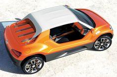 """Der neue VW up! bedeutet das Startsignal für eine ganze Baureihe: die New Small Family. Wie sich diese """"Family"""" auf der Basis des neuen VW up! in den nächsten Jahren weiterentwickeln könnte, demonstriert Volkswagen unter anderem mit einem Bug"""