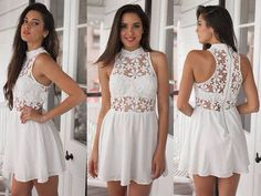 Charming party Dress,White Prom Dress,Short Homecoming Dress,Evening