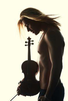 ©Andreas Hosch / Decca David Garrett - Violinist. Musical ability makes men THAT much more attractive