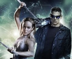 White Canary & Captain Cold - legends of tomorrow Superhero Tv Shows, Best Superhero, Hawkgirl, Batwoman, Captain Canary, Mick Rory, The Cw Tv Shows, Leonard Snart, Superman Lois