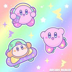 Kawaii Chibi, Kawaii Art, Kirby Games, Kirby Nintendo, Kirby Character, Space Games, Game Background, Pokemon, Star Citizen