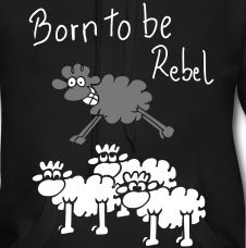 T-shirts from Spreadshirt ✓ Unique designs ✓ Easy 30 day return policy ✓ Order t-shirts now! Funny Sheep, Order T Shirts, Funny Cute, Tshirts Online, Rebel, Graphic Sweatshirt, Gifts, Shopping, Image