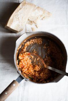 tomato risotto | Vicky Bennison
