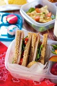 Healthy Packed Lunches: Whether it's desktop dining, picnicking in the park or a leisurely lunch on the beach here are the building blocks for a healthy lunch on the go...