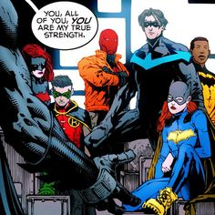 Batfamily in Batman #18