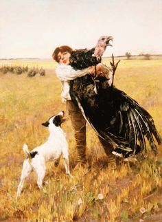 No! You are a rat terrier not a turkey terrier!  Arthur Wardle