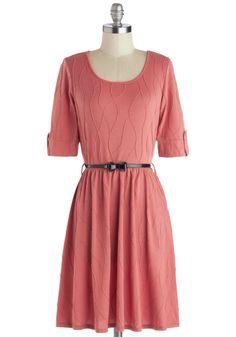 Sun-kissed Petals Dress in Rose | Mod Retro Vintage Dresses | ModCloth.com