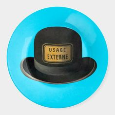 Magritte: Hat Plate | MoMAstore.org