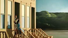 """Edward Hopper, """"Sonnenlicht auf braunem Sandstein"""", 1956"""