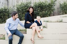 Natural Light Family Portrait: Ryan, Alayna, Lachlan — Straight, No Chaser