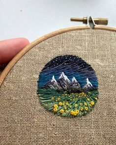 Reposted from @handmade.embroidery Love