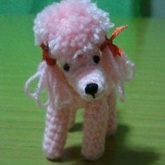 Patrón Caniche rosa