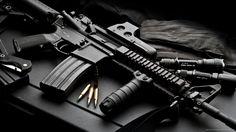 Fuzil M4 tático