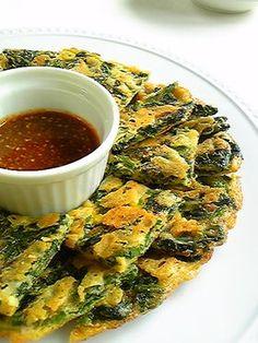 カリカリチーズとホウレン草のチヂミ by みいゆ [クックパッド] 簡単おいしいみんなのレシピが260万品