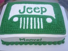 Jeep cake for those off roading guys :)