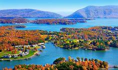 Smith Mountain Lake, VA (prints available here: http://www.smith-mountain-lake-visitor-center.com/prints/prints_smith_mountain_lake_01.htm)