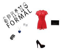 """""""Spring-Formal"""" by youngblooded-killjoys ❤ liked on Polyvore featuring Alexis, Furla, Waterford and Amanda Rose Collection"""