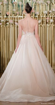8269682023f francesca miranda spring 2018 bridal sleeveless sweetheart embroidered  bodice ball gown wedding dress (amelie)