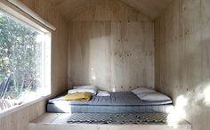 jeremylawson:  Ermitage cabin - a minimalist wooden cabin in the woods of Trossö, near the west coast of Sweden.