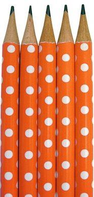 Polka dots. Really!!! It's not cute at all.
