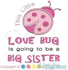 This little Lovebug is going to be a big sister and then she wasn't. How do you explain a miscarriage to a child? http://www.miscarriageassociation.org.uk/wp/wp-content/uploads/2011/04/TalkingtoChildren-final-Feb-20111.pdf This web site helped.
