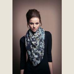 Tuch mit Stein Print arts by *katharinaschaffer* Fashion, Stones, Cotton, Moda, Fashion Styles, Fashion Illustrations