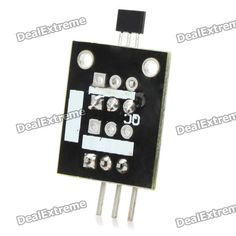 Keyes Hall Effect Magnetic Sensor Module for Arduino (Works with Official Arduino Boards). Brand Keyes Quantity 1 Color Black Material PCB Features Magnetic / speed / gap induction Application For Arduino DIY project Other Working voltage: DC 5V Packing List 1 x Hall effect magnetic sensor module. Tags: #Electrical #Tools #Arduino #SCM #Supplies #Sensors
