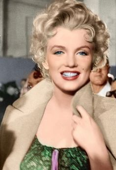 "Marilyn #Colorized ""Bus Stop"""