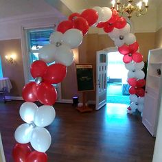 Looking for a balloon arch thats a bit different? Talk to us! 🎈