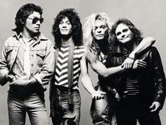 Van Halen. Great with David Lee Roth AND Sammy Hagar....can't decide who's better between those two!