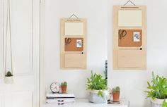 Tutorial: um organizador de parede de madeira balsa e cortiça