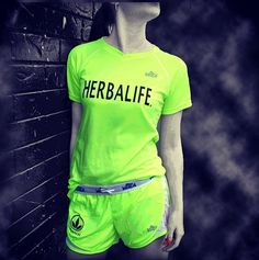 who wouldve thought id be a model for herbalife clothing?