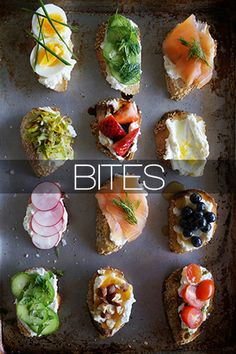 Tea sandwiches have always seemed inexplicably sophisticated to me. All you have to do is just pair a couple ingredients with ordinary white bread and you have delicate finger sandwiches. Instead of using two slices of bread, I decided to leave these sandwiches open-faced, making for an even more
