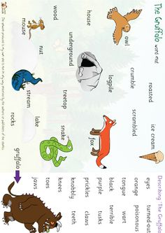 The Gruffalo Word Mat - http://displays.tpet.co.uk/#/viewPost/id568