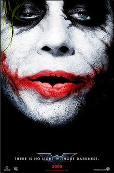 """The Joker""The Dark Knight, Heath Ledger, 2008"