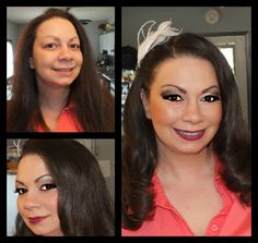 Before And After Wedding HD Airbrush Makeup Hairstyle