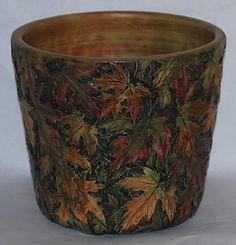 Weller Pottery Flemish Leaf Jardiniere