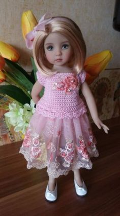 """The-outfit-for-dolls-13""""-Dianna-Effner-Little-Darling-hand-made"""