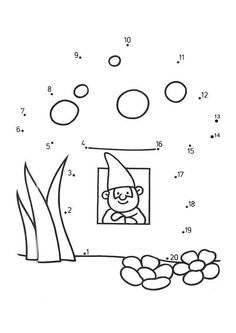 Dot To Worksheets With Numbers For Preschoolers Pre Intermediate