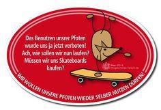 KFZ-Magnet-Schild für alle die gerne ein Statement setzen möchten, gegen das rigorose Vorgehen eines Outdoor-Bekleidungsherstellers gegen jegliche ...