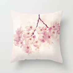 Cherry Blossoms (Canvas) from Color Math: Navy + Pink + White on Gilt