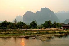 from Luang Prabang to vang Vien
