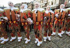 Carnevale nel mondo 2017 -i Gilles del Carnevale di Binche