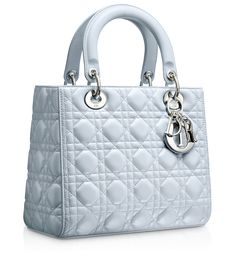 Sheds tears of joy... they came out with a BLUE one  LADY DIOR - Lady Dior bag