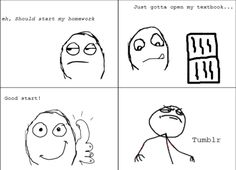 Pretty much the only thing I remember about school, except we didn't have tumblr!