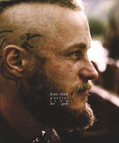 And the award for Vikings lovliest beard goes to Ragnar Lothbrok! (Travis Fimmel)